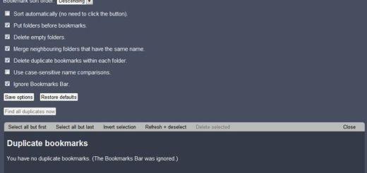 SuperSorter, ordena alfabéticamente y organiza todos tus favoritos de Chrome con esta extensión