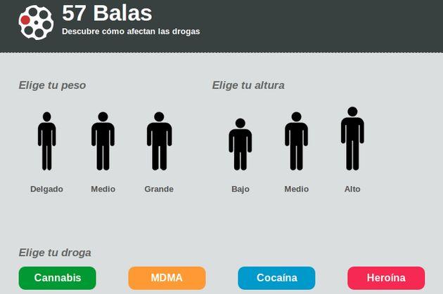 57 Balas, conoce las consecuencias del consumo de drogas