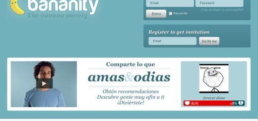 Bananity, nueva red social en español para debatir lo que amas y lo que odias