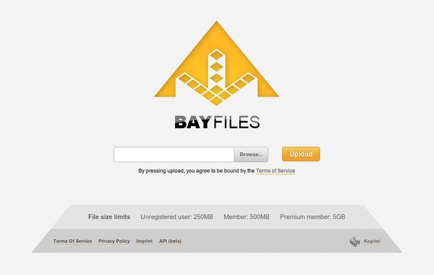 BayFiles, comparte de forma gratuita archivos de hasta 500 Mb