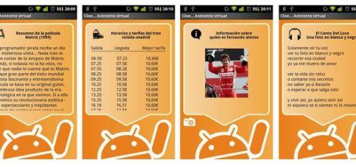 Llega Cloe, la alternativa a Siri para Android en español