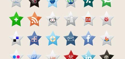 10 packs de iconos sociales gratuitos de gran calidad