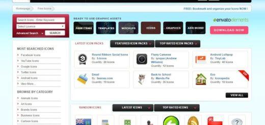 Iconspedia: directorio con miles de iconos y packs gratuitos para descargar