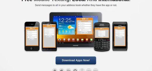 JaxtrSMS, aplicación móvil para enviar sms gratis a cualquier teléfono aunque no tenga el cliente instalado