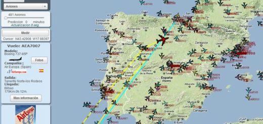 Localiza Todo: impresionante mashup de Google Maps para geolocalizar aviones, barcos, radioaficionados y mucho más