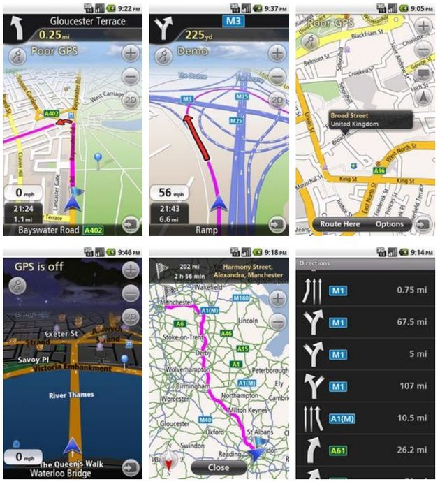 Navfree, software GPS gratuito para tu Android sin conexión de datos