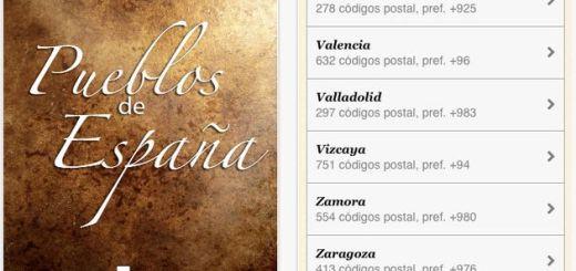 Pueblos de España, completa información de todas las localidades españolas en una app gratuita para iPhone