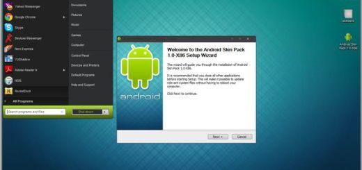 Android Skin Pack, un tema para transformar la apariencia de tu Windows 7 en Android