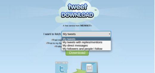 TweetDownload: descarga un backup de tus tweets, menciones, DM, follows o followers de Twitter