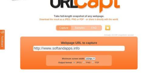 URLCapt: utilidad online para capturar una web como jpg, png o pdf