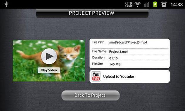 AndroMedia, completo editor de vídeo gratuito para tu Android