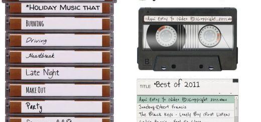 Everyone's Mixtape: estilo retro para crear y compartir playlists musicales