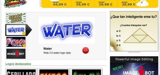 FlamingText: aplicación web gratuita para crear logotipos, textos de cabecera, botones y más