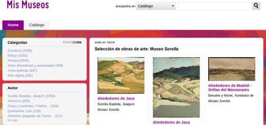 Mis Museos: catálogo de obras de arte, artistas y museos