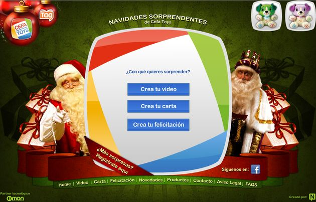 Navidades Sorprendentes, crea vídeos para los Reyes Magos o Papá Noel