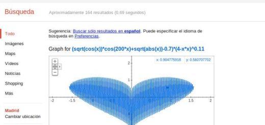 El buscador Google ahora también representa complejas funciones matemáticas
