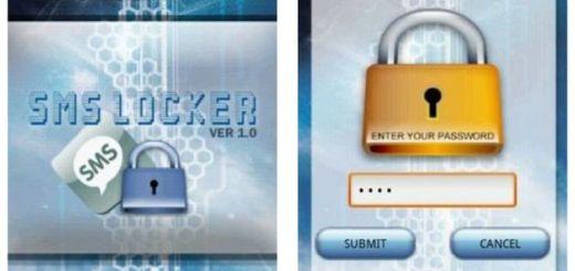 SMS Locker, sms protegidos con contraseña para que no los lea quien no debe (Android)