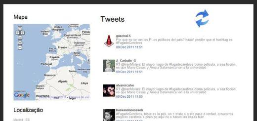 TwitTRENDS, descubre Trending Topics locales en un mapa de Google