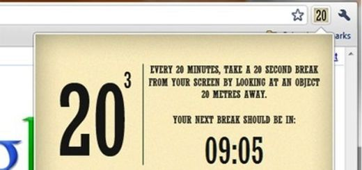 20 Cubed, una práctica extensión Chrome para ayudarnos a cuidar la vista