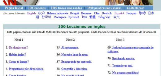Englishspeak, completo curso gratuito para iniciarse en el aprendizaje de inglés