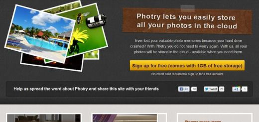Photry, servicio de backup online para tus fotografías con 1 Gb gratuito