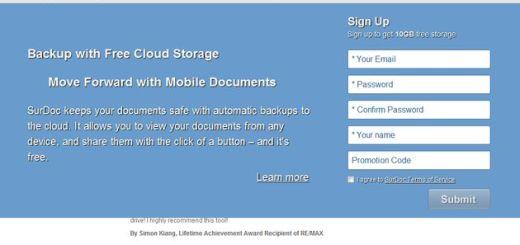 SurDoc: otra plataforma para backups en la nube, que nos regala 100 Gb