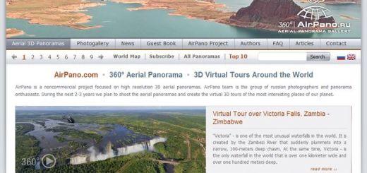 AirPano, gran galería con fotos panorámicas a 360º de los lugares más bellos del mundo
