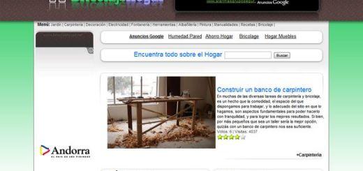 Bricolaje Hogar, realiza tus propios arreglos caseros con esta guía online