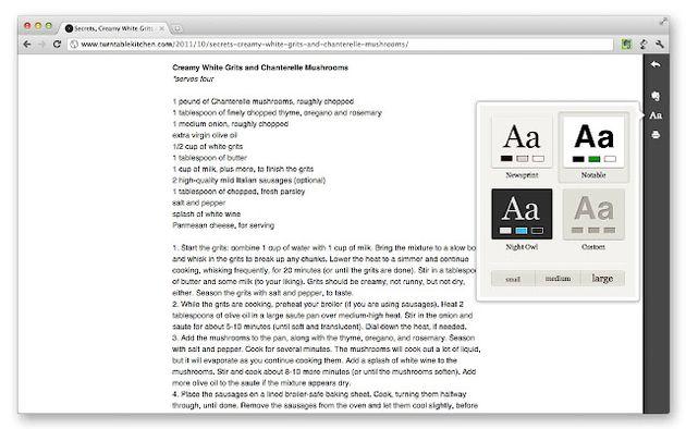 Clearly: visualiza textos online de forma de forma clara, eliminando elementos superfluos