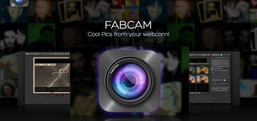 FabCam, tómate una foto con tu webcam y aplícale divertidos efectos