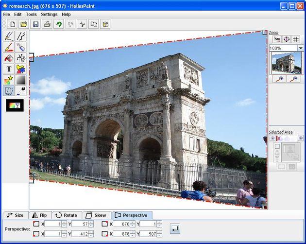 HeliosPaint: edita tus imágenes y dibuja con esta aplicación multiplataforma, gratuita y amigable