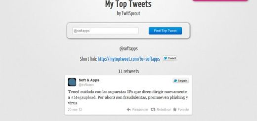 """My Top Tweets, descubre de un vistazo cuales son tus tweets más """"retuiteados"""""""