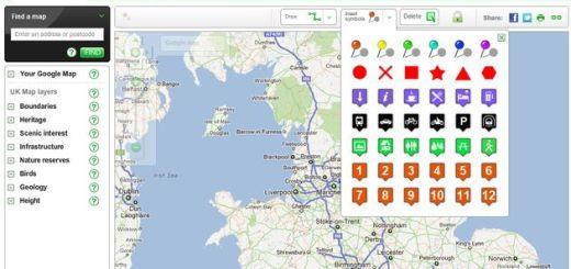 Sketchmap, crea y comparte un mapa de Google rápidamente