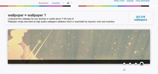 Wallpoper, más de 227000 wallpapers gratis para tu ordenador o móvil
