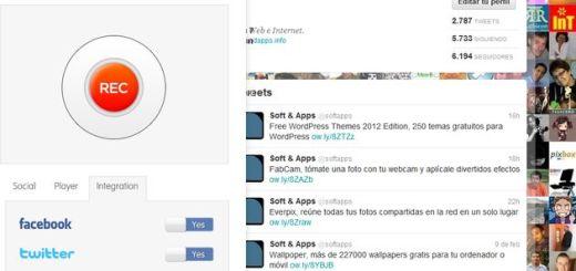 uWhisp, plugin de navegador para dejar mensajes de voz en Twitter y Facebook
