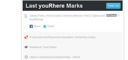 youRhere, extensión Chrome para guardar artículos y leerlos después