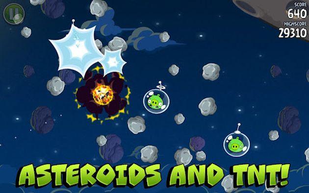 Angry Birds Space listo para instalar en tu Android o iOS