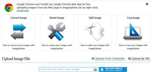 ImageSplitter: utilidad web gratuita para convertir, recortar, dividir o redimensionar imágenes