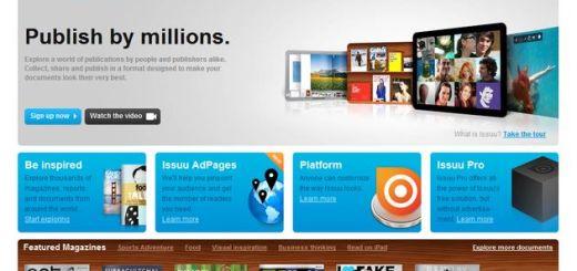 Issuu, convierte un PDF en un magazine en flash para compartir o insertar en tu web