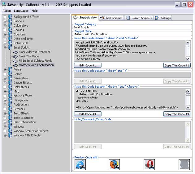 JavaScript Collector, gran colección de scripts para utilizar en tu web
