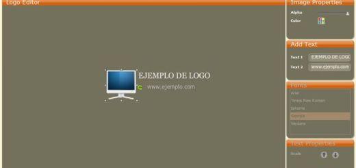 LogoCraft, un generador de sencillos logotipos gratuito y online
