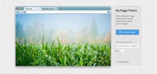 My Chrome Theme, crea y comparte tus propios temas para Chrome