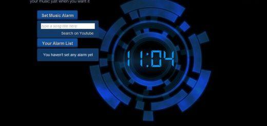 Online Music Alarm, programa alarmas o alertas con vídeos de YouTube