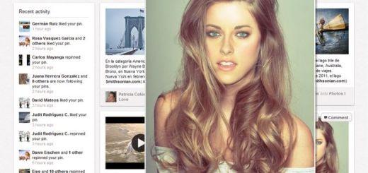 Pinterest Zoom, zoom automático de las imágenes de Pinterest (Chrome)