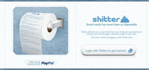 Shitter, papel higiénico con los tweets de tu timeline u otras cuentas de Twitter