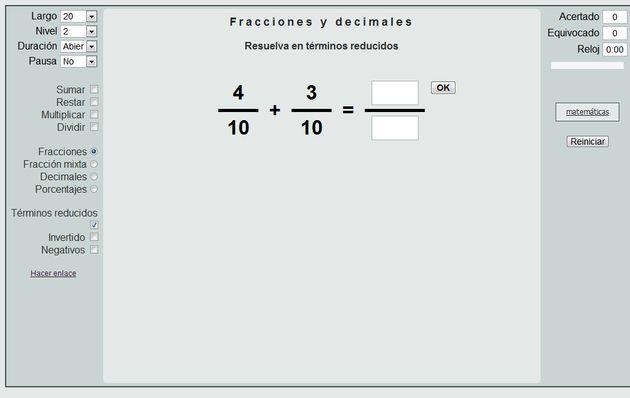 Thatquiz Ejercicios Online De Matem 225 Ticas Vocabulario