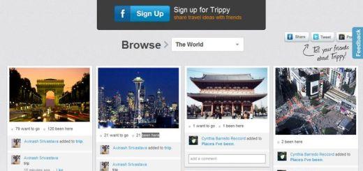 Trippy, red social para compartir fotos de lugares y viajes al estilo Pinterest