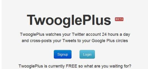 TwooglePlus, publica automáticamente tus tweets en Google+
