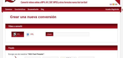 Veo Video Converter, potente conversor online para múltiples formatos de vídeo
