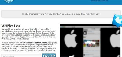 WidPlay, red social y suite de aplicaciones gratuitas en la nube